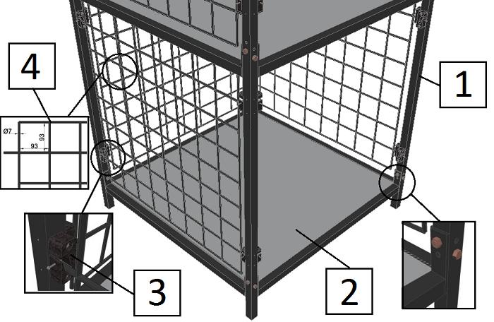 Элементы модульной конструкции