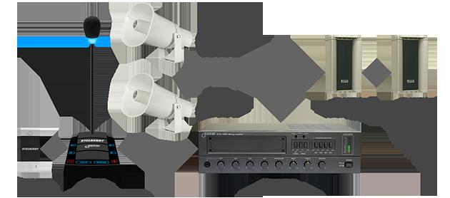 Система световых и звуковых эффектов